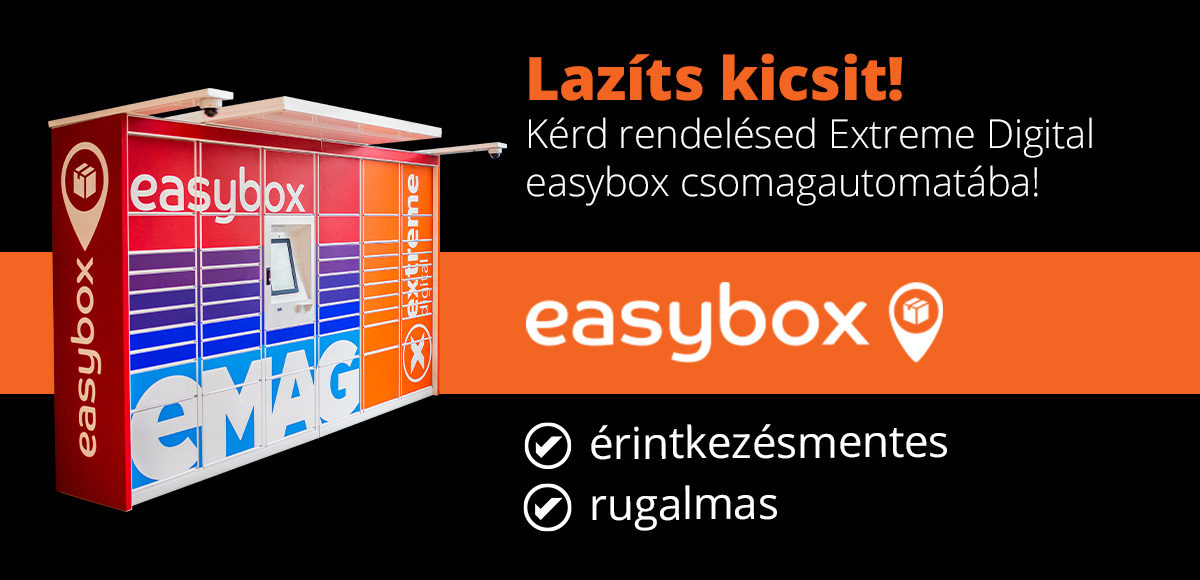 Extreme Digital easybox csomagautomata