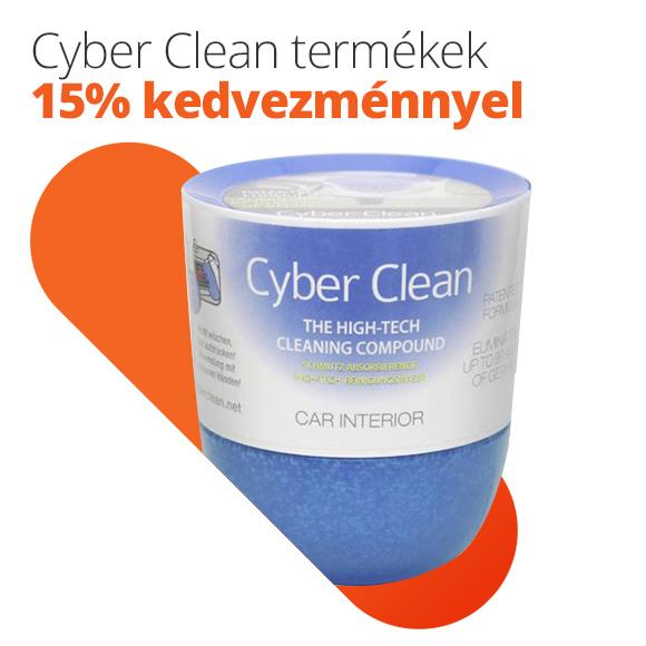 Cyber Clean termékek 15% kedvezménnyel