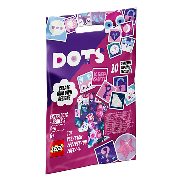 LEGO® DOTs™ 41921 Extra DOTs™ - 3. sorozat