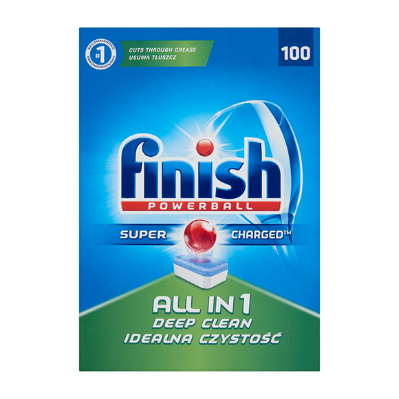 Finish All in 1 mosogatógép-tabletta 100 db
