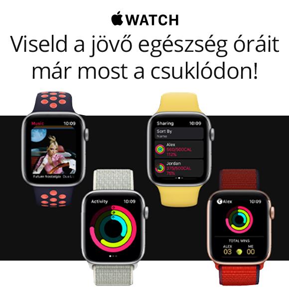 Apple Watch - Viseld a jövő egészség óráit már most a csuklódon!