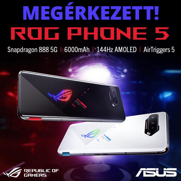 Megérkezett az Asus ROG Phone 5!