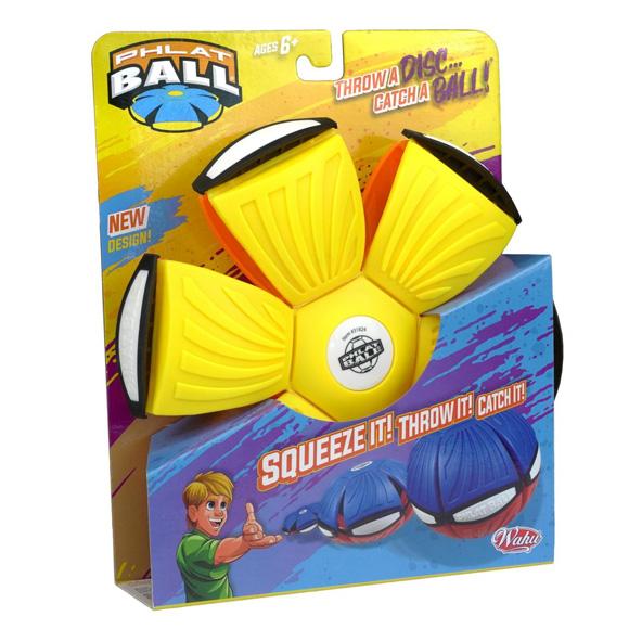 Phlat Ball V4 frizbilabda, narancs/citrom