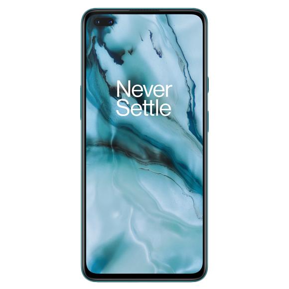 OnePlus Nord 8GB/128GB Dual SIM kártyafüggetlen okostelefon, blue marble (Android)