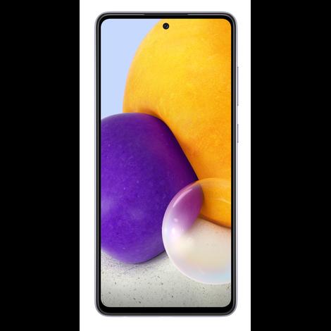 Samsung Galaxy A72 6GB/128GB Dual SIM (SM-A725) kártyafüggetlen okostelefon, Király lila (Android)